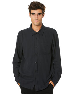JET BLACK MENS CLOTHING OUTERKNOWN SHIRTS - 1310112JBL