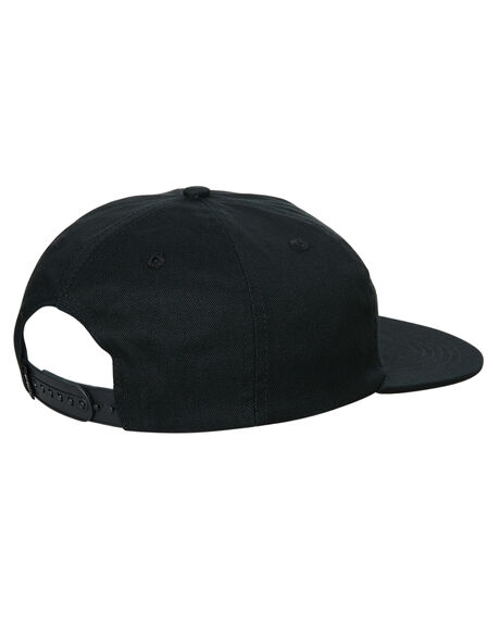 BLACK MENS ACCESSORIES THRILLS HEADWEAR - TR7-502BBLK