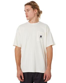 IVORY MENS CLOTHING POLAR SKATE CO. TEES - PSCPOCK-IVRY