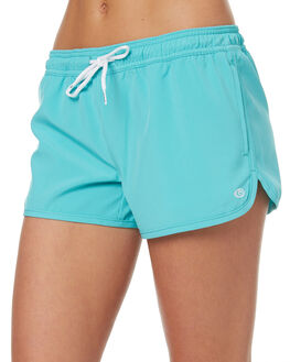TURQUOISE WOMENS CLOTHING RIP CURL SHORTS - GBODN10074