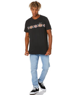 WASHED BLACK MENS CLOTHING SWELL TEES - S5204010WSHBK
