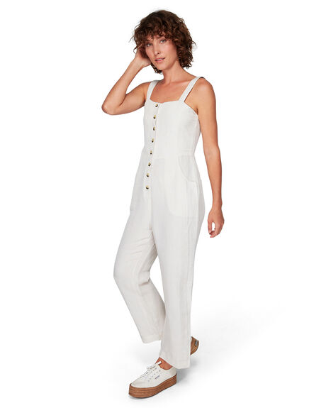 LINEN WOMENS CLOTHING RVCA PLAYSUITS + OVERALLS - RV-R292763-L10