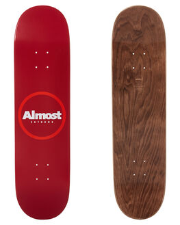 RED BOARDSPORTS SKATE ALMOST DECKS - 100231173RED
