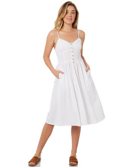 WHITE WOMENS CLOTHING ROLLAS DRESSES - 12550-001