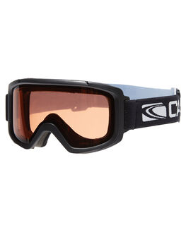 MATT BLK ORANGE SNOW ACCESSORIES CARVE GOGGLES - 6131BKOR