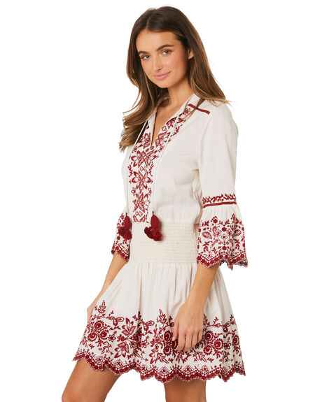 IVORY WOMENS CLOTHING TIGERLILY DRESSES - T391403IVO