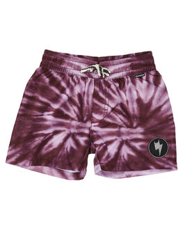PURPLE DYE KIDS BOYS MUNSTER KIDS BOARDSHORTS - MK192BS06PRPDY