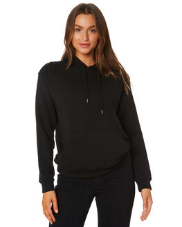 BLACK WOMENS CLOTHING AS COLOUR JUMPERS - 4120BLK