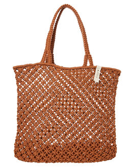 RUST WOMENS ACCESSORIES THE BEACH PEOPLE BAGS + BACKPACKS - BG-M10-03-ORST