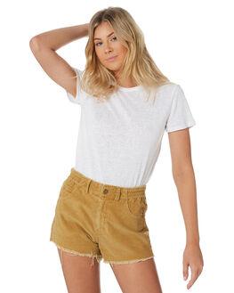 WHITE WOMENS CLOTHING SWELL TEES - S8201014WHI