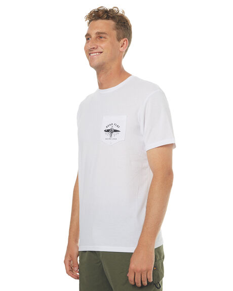WHITE MENS CLOTHING QUIKSILVER TEES - EQYWR03067WBB0