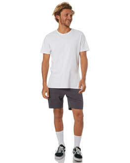 DARK CHAR MENS CLOTHING DEPACTUS SHORTS - D5184243DKCHR