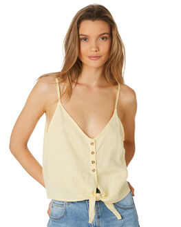 LEMON WOMENS CLOTHING RHYTHM FASHION TOPS - APR19W-WT01-LEM