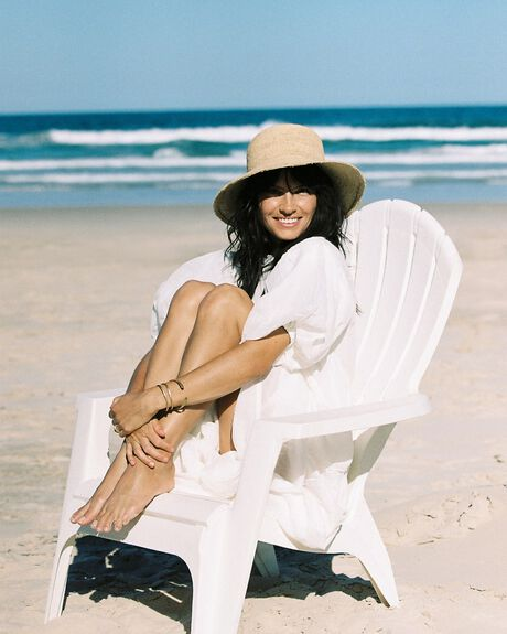 NATURAL WOMENS ACCESSORIES THE BEACH PEOPLE HEADWEAR - HT.W21.01.SM