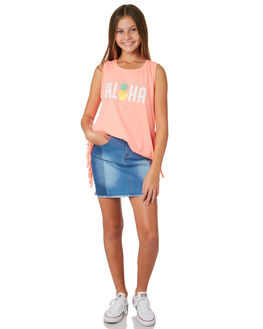 DENIM KIDS GIRLS EVES SISTER SHORTS + SKIRTS - 9520026DEN