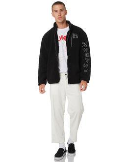 BLACK MENS CLOTHING MISFIT JACKETS - MT095503BLK