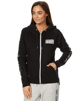 BLACK WOMENS CLOTHING HURLEY JUMPERS - AGFLECPS00A