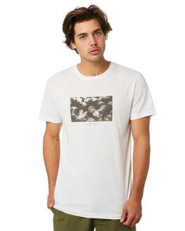WHITE MENS CLOTHING RHYTHM TEES - JUL19M-CT09-WHT