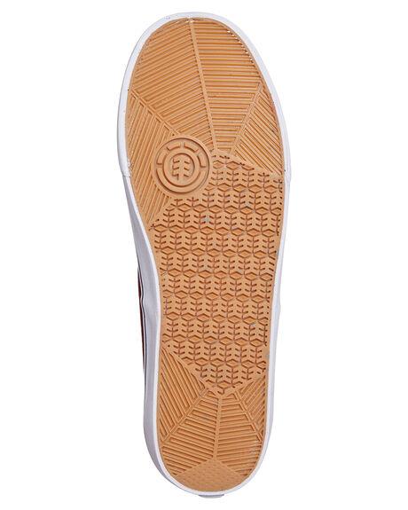 NAPA WHITE MENS FOOTWEAR ELEMENT SNEAKERS - 183902NAP