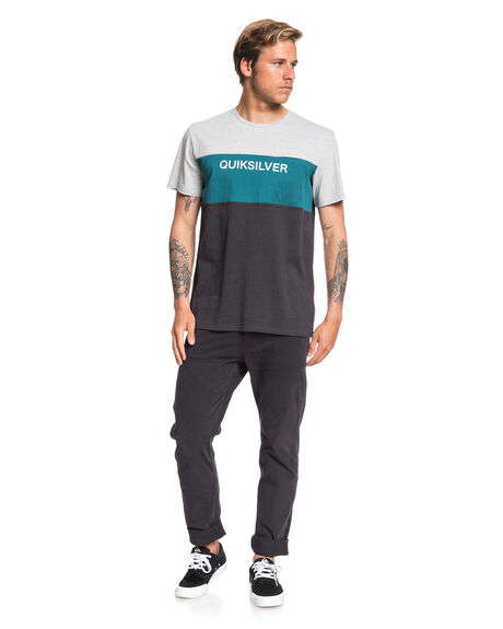 SHADED SPRUCE MENS CLOTHING QUIKSILVER TEES - EQYKT03936-BSR0