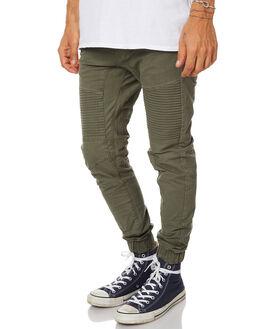 APACHE GREEN MENS CLOTHING NENA AND PASADENA PANTS - NPMDP001APGRN