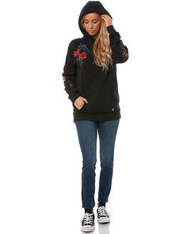 BLACK WOMENS CLOTHING VOLCOM JUMPERS - B3141707BLK