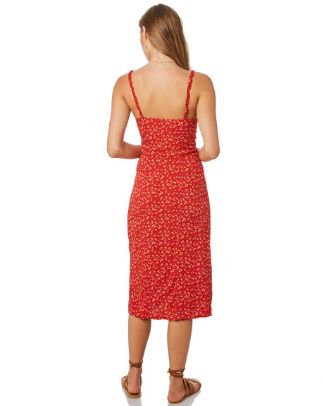 RED OUTLET WOMENS THE HIDDEN WAY DRESSES - H8201452RED