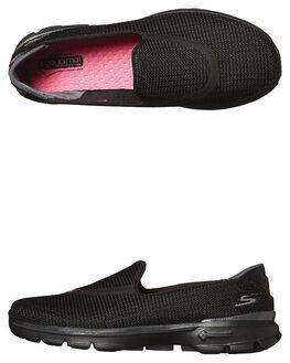 BLACK WOMENS FOOTWEAR SKECHERS SNEAKERS - 13980BBK