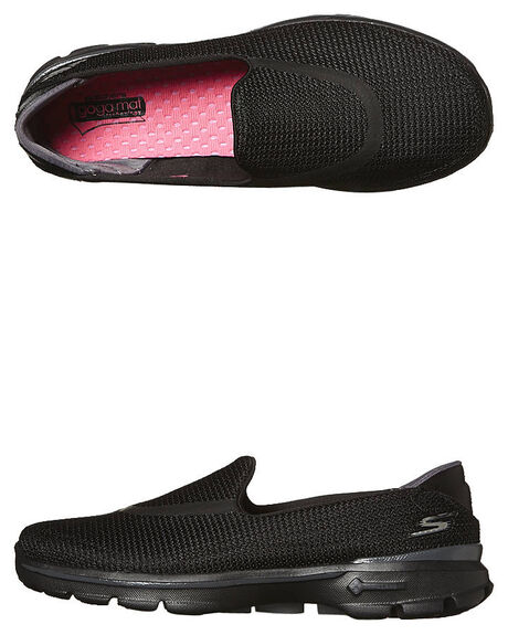 BLACK WOMENS FOOTWEAR SKECHERS SNEAKERS - 13980BBK