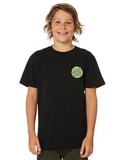 BLACK KIDS BOYS SANTA CRUZ TOPS - SC-YTD8122BLK