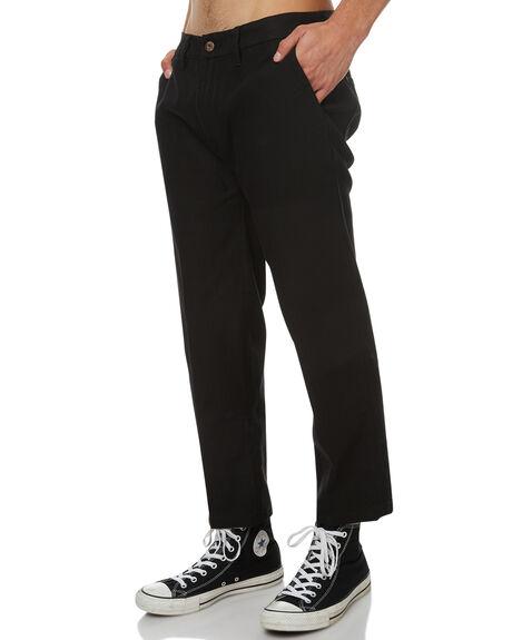 BLACK MENS CLOTHING GLOBE PANTS - GB01736004BLK