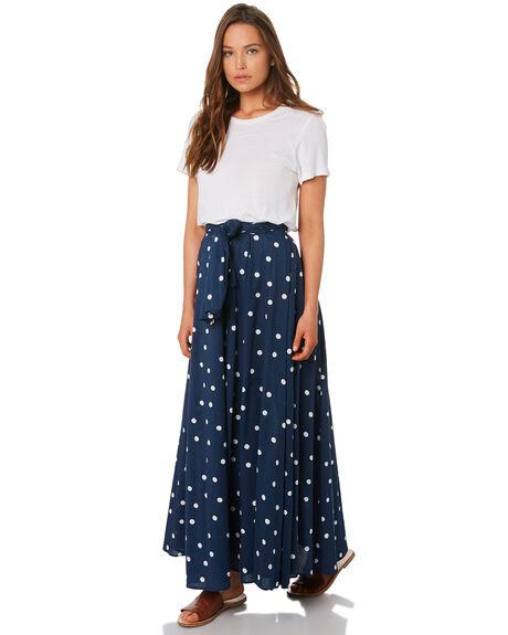 NAVY WOMENS CLOTHING TIGERLILY SKIRTS - T392282NAVY