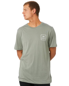 SAGE MENS CLOTHING RVCA TEES - R172062SAGE