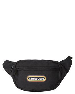 BLACK WOMENS ACCESSORIES SANTA CRUZ BAGS + BACKPACKS - SC-WAA9844-3BL