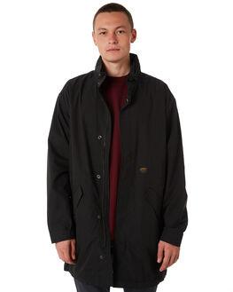 BLACK MENS CLOTHING CARHARTT JACKETS - I02406589