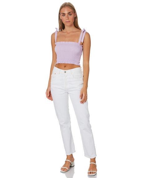 LILAC WOMENS CLOTHING LULU AND ROSE FASHION TOPS - LU23891LILAC