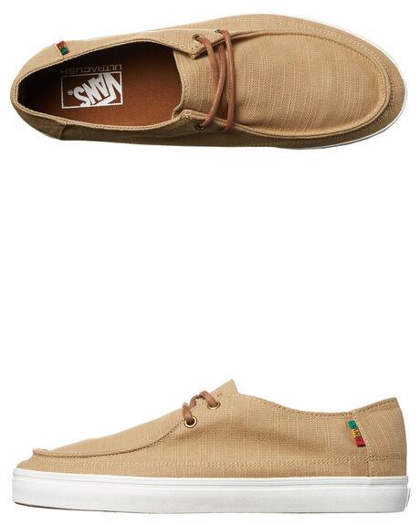 vans rata vulc rasta khaki shoes