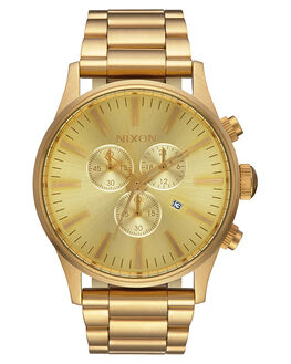 ALL GOLD MENS ACCESSORIES NIXON WATCHES - A386502
