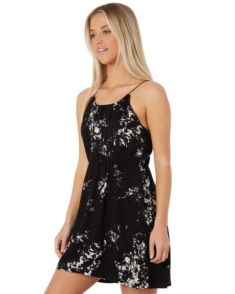 BLACK WOMENS CLOTHING HURLEY DRESSES - AR4255-010