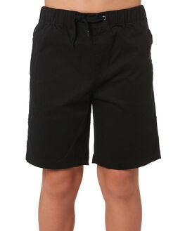 BLACK KIDS BOYS SWELL BOARDSHORTS - S3183237BLACK