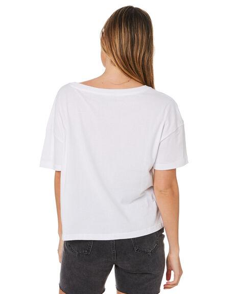 WHITE WOMENS CLOTHING HURLEY TEES - GTSSLOSG100