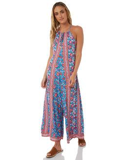 BLUE WOMENS CLOTHING ARNHEM PLAYSUITS + OVERALLS - ARPRJU01BLU
