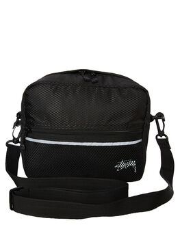 BLACK MENS ACCESSORIES STUSSY BAGS + BACKPACKS - ST793013BLK