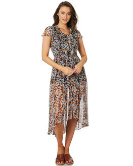 DIXIE CUP FLORAL WOMENS CLOTHING STEVIE MAY DRESSES - SL191003DDIX