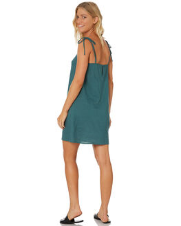 MIDNIGHT TEAL WOMENS CLOTHING SWELL DRESSES - S8184446MDTEL