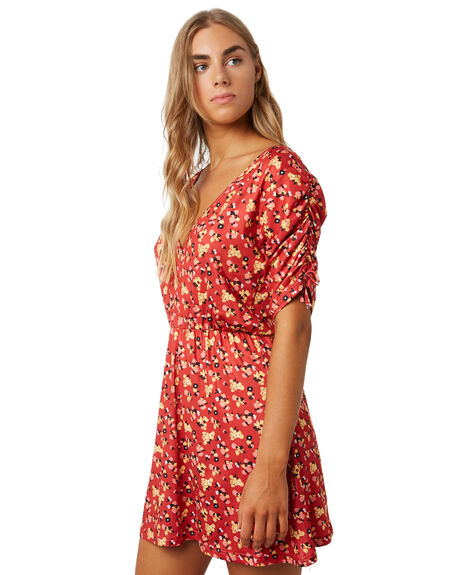 FLORAL WOMENS CLOTHING SWELL DRESSES - S8202444FLOR