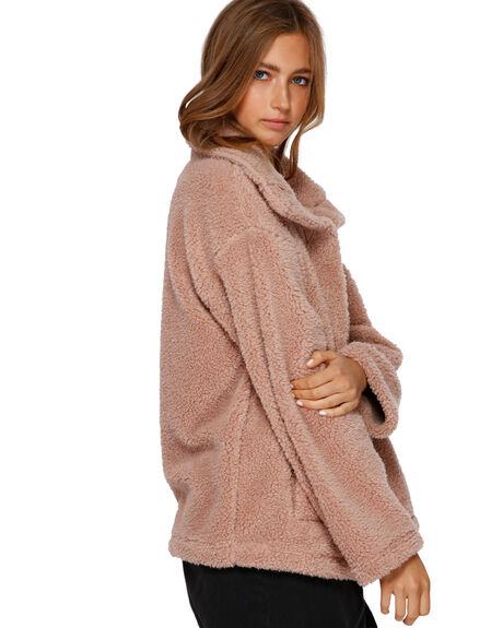 WARM SAND WOMENS CLOTHING BILLABONG JACKETS - BB-6591735-WSN