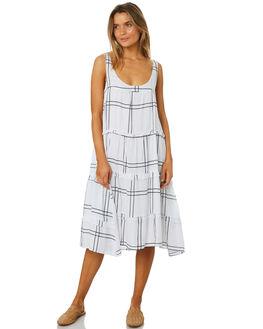 VALERY CHECK OUTLET WOMENS SANCIA DRESSES - 694ACHECK