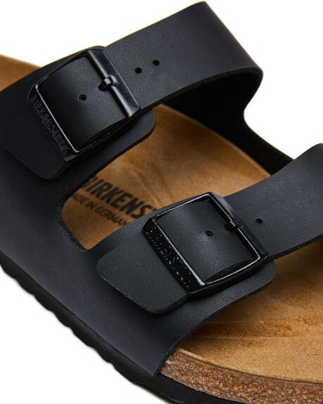BLACK MENS FOOTWEAR BIRKENSTOCK SLIDES - 051791MBLK