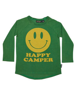 GREEN KIDS TODDLER BOYS ROCK YOUR BABY TEES - TBT1838-HCGRN
